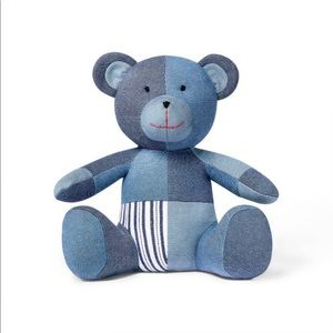 Levi's patchwork teddy bear
